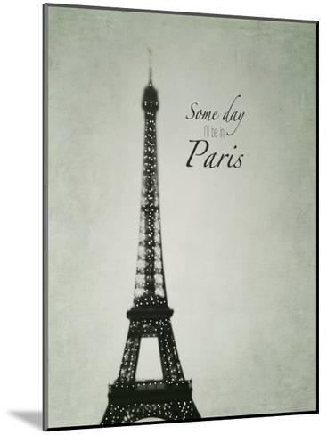 Someday Paris-Tracey Telik-Mounted Art Print