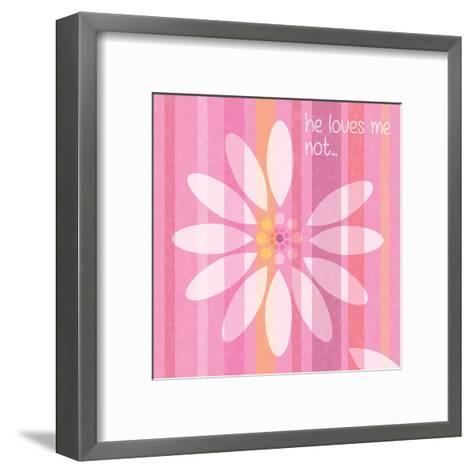 Spring ROmance Pairs 05-Melody Hogan-Framed Art Print