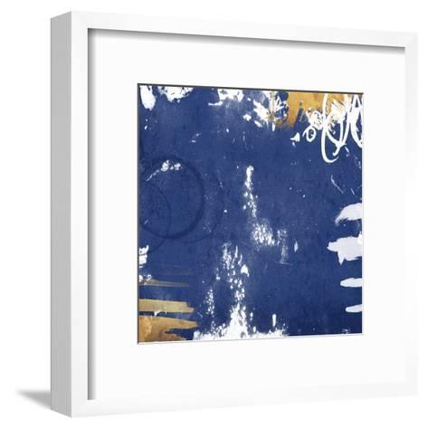 Golden Blue Mate-Jace Grey-Framed Art Print