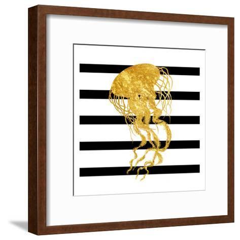 Golden Jelly Fish-Sheldon Lewis-Framed Art Print
