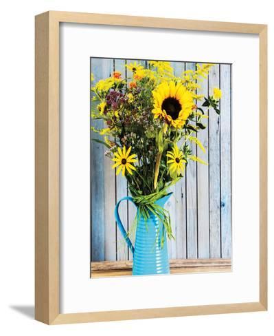 Summer Colur Explosion-Kuma Kuma-Framed Art Print