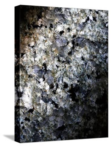 Gray Minerals 1-Sandro De Carvalho-Stretched Canvas Print