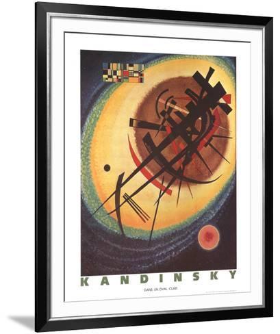 Bright Oval-Wassily Kandinsky-Framed Art Print