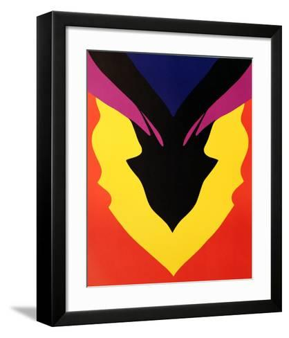 At Pace, Columbus-Jack Youngerman-Framed Art Print