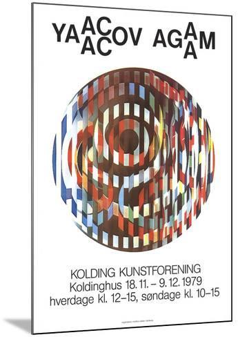 Kolding Kunstforening-Yaacov Agam-Mounted Collectable Print
