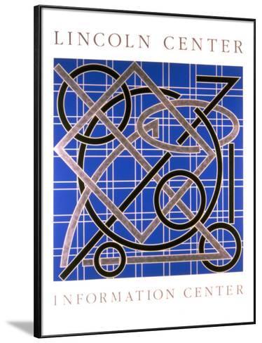 Lincoln Center Information Center-Valerie Jaudon-Framed Art Print