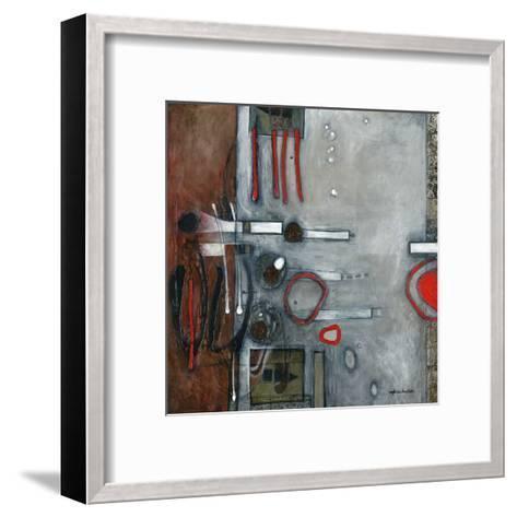 Les pleins, les vides-Sylvie Cloutier-Framed Art Print