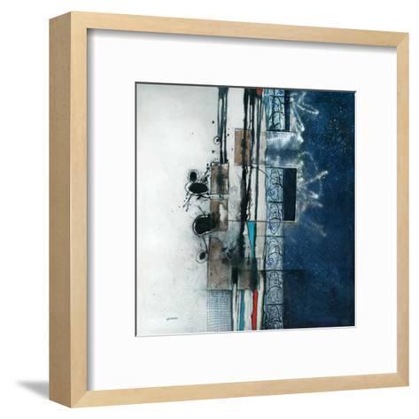 Nuit d'encre-Sylvie Cloutier-Framed Art Print