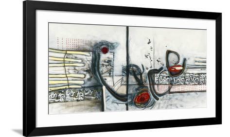 Ci-dessus-Sylvie Cloutier-Framed Art Print