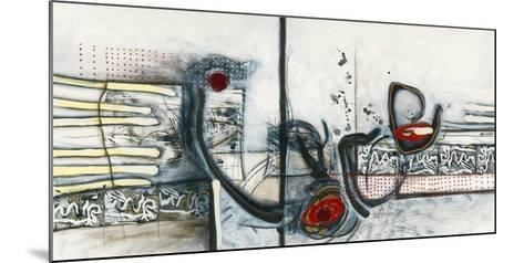 Ci-dessus-Sylvie Cloutier-Mounted Art Print