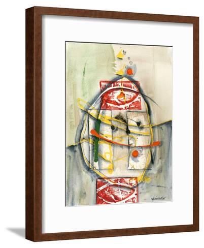 Déversement-Sylvie Cloutier-Framed Art Print