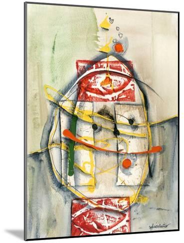 Déversement-Sylvie Cloutier-Mounted Art Print