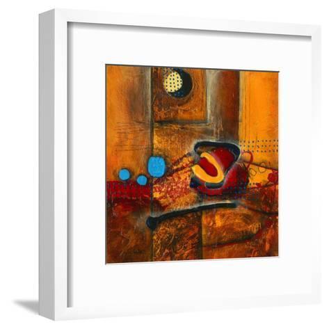 Une vague de chaleur 1-Sylvie Cloutier-Framed Art Print