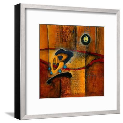 Une vague de chaleur 2-Sylvie Cloutier-Framed Art Print