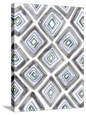 Geometric Daze-Lottie Fontaine-Stretched Canvas Print