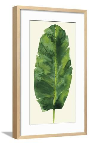 Tropical Palm Leaf III-Kim Johnson-Framed Art Print