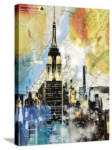 Urban Sights I-Alan Lambert-Stretched Canvas Print