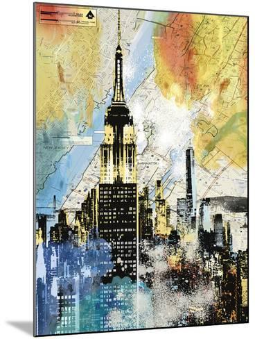 Urban Sights I-Alan Lambert-Mounted Art Print