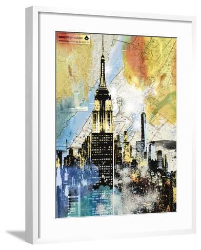 Urban Sights I-Alan Lambert-Framed Art Print