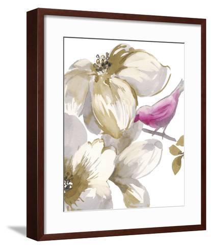 Bird Chatter II-Sandra Jacobs-Framed Art Print