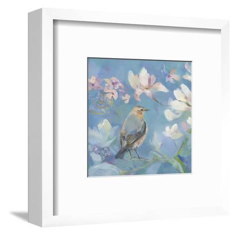 Birds in Magnolia - Detail I-Sarah Simpson-Framed Art Print
