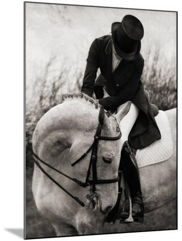 Dressage - The Transition-Pete Kelly-Mounted Giclee Print