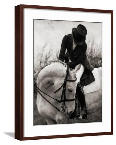 Dressage - The Transition-Pete Kelly-Framed Art Print