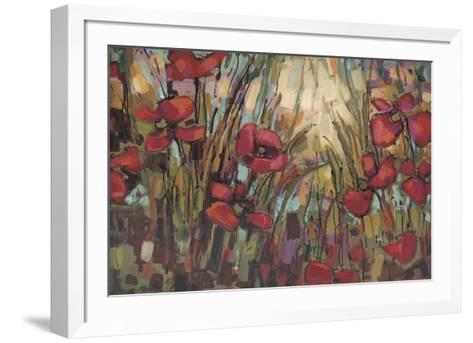 Opal-Crystal Heath-Framed Art Print