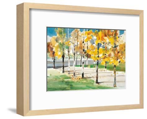 Autumn Trees-Wai Hin Law-Framed Art Print