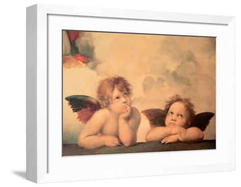 Angels-Sanzio Raffaello-Framed Art Print