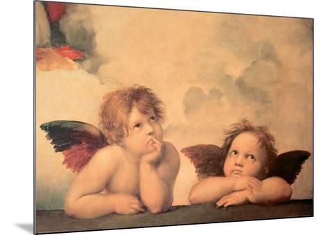 Angels-Sanzio Raffaello-Mounted Art Print