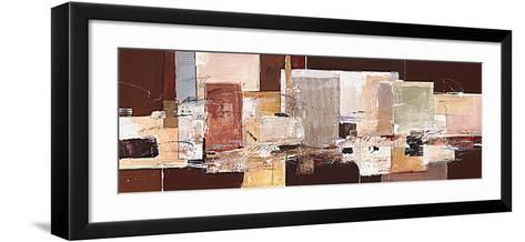 Abstract Harmony IX-Ron van der Werf-Framed Art Print