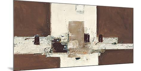 Abstrakt VIII-Ron van der Werf-Mounted Art Print