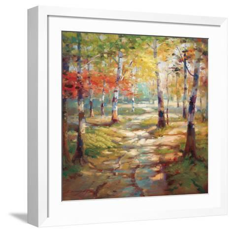 Birch Clearing-Stephen Douglas-Framed Art Print