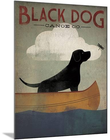 Black Dog Canoe Co.-Ryan Fowler-Mounted Art Print