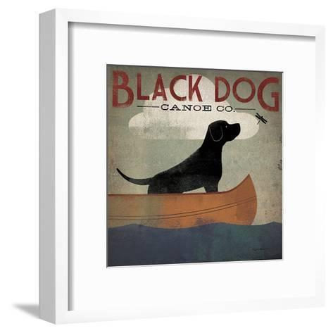 Black Dog Canoe Co.-Ryan Fowler-Framed Art Print