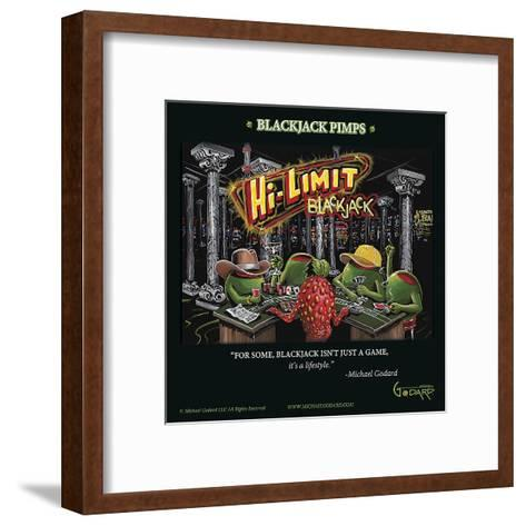 Black Jack Pimps-Michael Godard-Framed Art Print