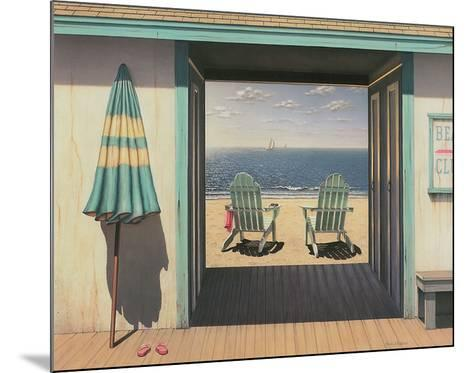 Beach Club-Daniel Pollera-Mounted Art Print