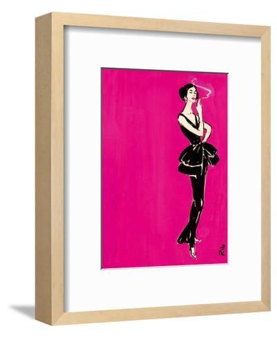 Berlin Fashion Fair, Fall/Winter, 1956/1957-Rico Puhlmann-Framed Art Print