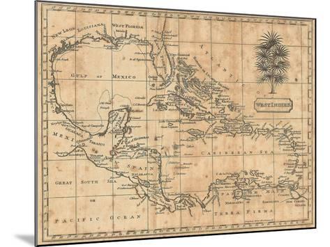 Caribbean, 1806-Andrew Arrowsmith-Mounted Art Print