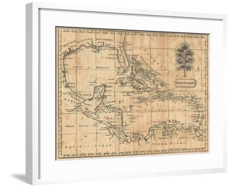 Caribbean, 1806-Andrew Arrowsmith-Framed Art Print