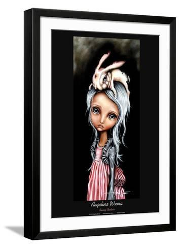 Bunny Couture-Angelina Wrona-Framed Art Print
