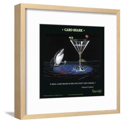 Card Shark-Michael Godard-Framed Art Print