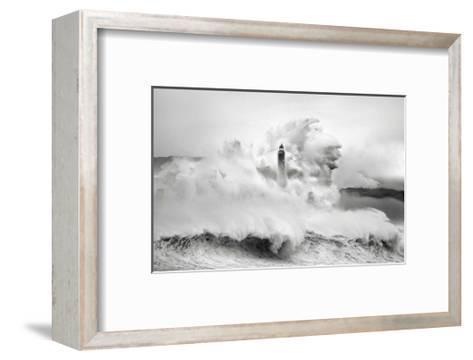 Cantabria Lighthouse I-Marina Cano-Framed Art Print