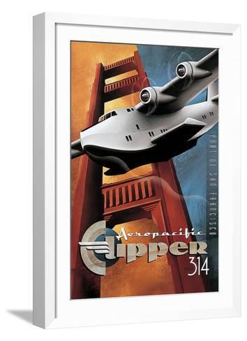 Clipper 314-Michael L^ Kungl-Framed Art Print