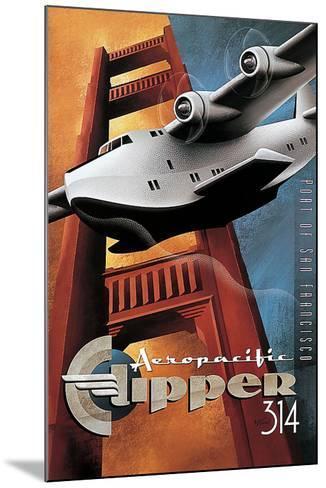Clipper 314-Michael L^ Kungl-Mounted Art Print