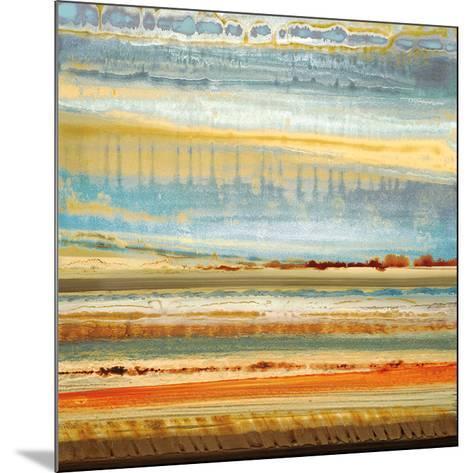 Earth Layers I-Selina Rodriguez-Mounted Art Print