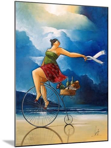 Delivery-Ronald West-Mounted Art Print