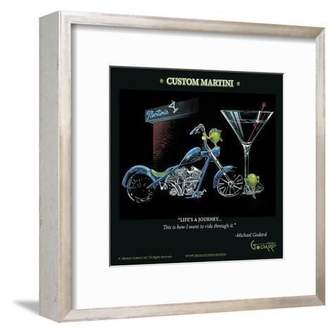 Custom Martini-Michael Godard-Framed Art Print
