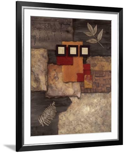 Designer Foliage I-Norm Olson-Framed Art Print